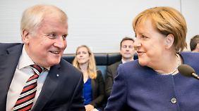 """Einigung bei Flüchtlingspolitik: CDU und CSU vermeiden das Wort """"Obergrenze"""""""