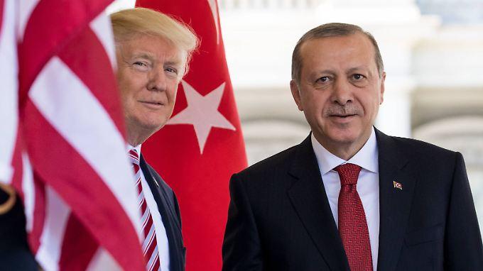 Recep Tayyip Erdogan zu Besuch im Weißen Haus am 16.Mai 2017.