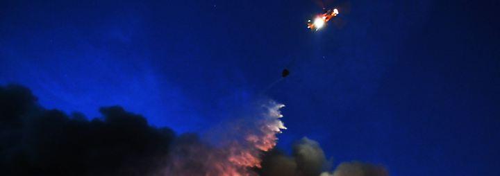 Großbrand in Moskau: Flammeninferno verschlingt Einkaufszentrum