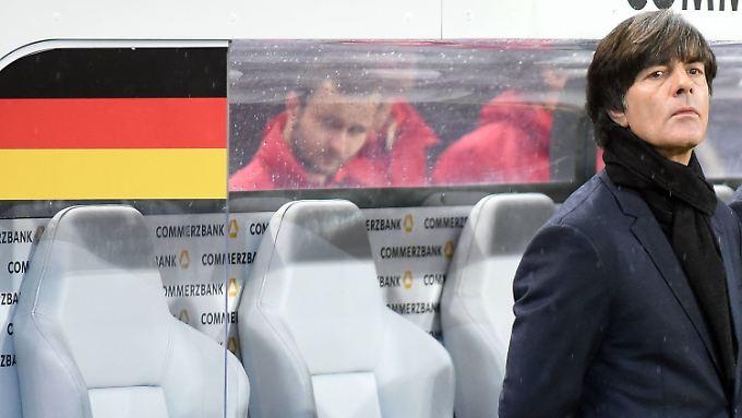"""""""Man macht einen Fehler, wenn man diese Qualifikation als Maßstab nimmt"""": Joachim Löw."""