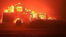 Lokaler Notstand ausgerufen: Zehn Tote bei Bränden in Kalifornien