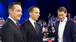 Rechte FPÖ als Profiteur?: Schmutzkampagne überschattet Österreichs Wahlkampf