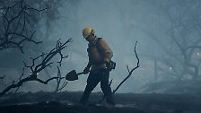 Seit Sonntagabend wüten die Feuer in der Region, in der erst im April eine lange Dürreperiode für beendet erklärt worden war.