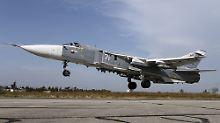 Technische Probleme beim Start?: Russischer Kampfjet stürzt in Syrien ab