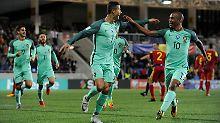 Noch einmal treffen, noch einmal jubeln: Portugal muss gegen die Schweiz siegen.