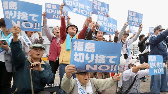 Rund 3800 Bürger hatten vor dem Bezirksgericht von Fukushima eine Sammelklage gegen den Staat und Tepco angestrengt.
