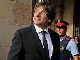 Spanien und Europa schauen auf Carles Puigdemont.