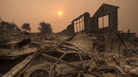 Tausende Häuser wurden zerstört, wie hier in Santa Rosa.