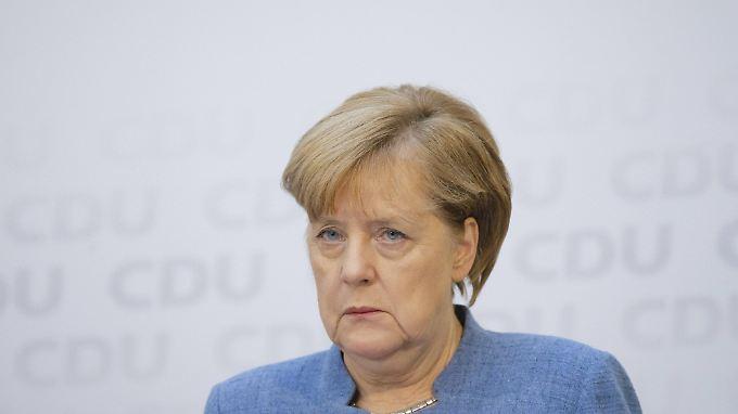 Eine Niederlage der CDU in Niedersachsen wäre für Merkel eine schlechte Nachricht. Eine Personaldebatte müsste sie dennoch vermutlich nicht fürchten.