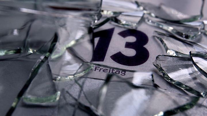 Scherben bringen Glück - auch an einem Freitag, dem 13?