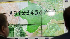 Der 200-Rubel-Schein ist umgerechnet knapp 3 Euro wert.