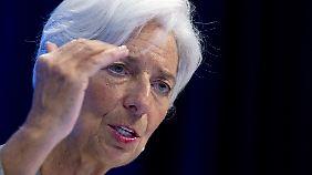 """""""Dach reparieren, solange Sonne scheint"""": Lagarde warnt vor Gefahr durch starke Wirtschaft"""