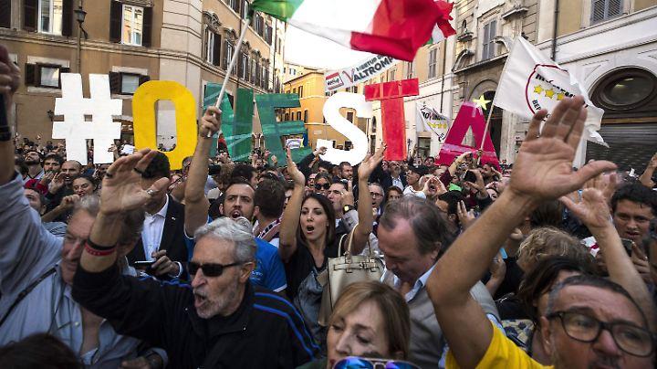 Reform des italienischen Wahlrechts? Nun hängt es am Senat.