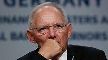 Wolfgang Schäuble verlässt das glatte Finanzparkett.
