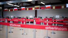 Der Börsen-Tag: Air-Berlin-Mitarbeiter blicken in ungewisse Zukunft