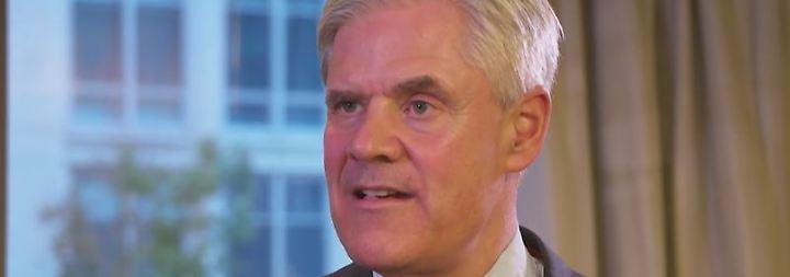 """Bundesbankvorstand Dombret im Interview: """"Kryptowährungen sind Nischenprodukte"""""""
