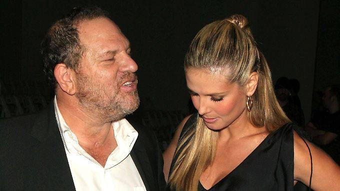 Auch Heidi Klum hatte beruflich mit Harvey Weinstein zu tun.