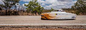 Gewann zum dritten Mal in Folge: das Nuon Solar Team aus den Niederlanden.