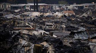 """""""Als ob wir bombardiert worden wären"""": Flammenmeer legt Kalifornien in Schutt und Asche"""