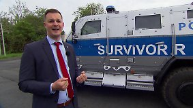 n-tv Wissen: Thema u.a.: Der sicherste Streifenwagen der Welt