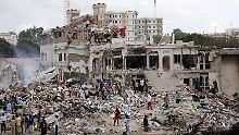 Opferzahl in Mogadischu steigt: Attentat in Somalia tötet 231 Menschen