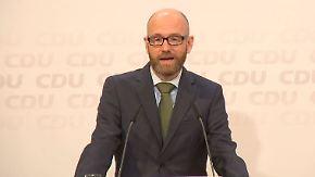 """Tauber nach Niedersachsen-Wahl zufrieden: """"Haben ein achtbares Ergebnis erzielt"""""""