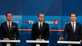 ÖVP wird mit Kurz stärkste Kraft: Österreich wählt neuen Nationalrat