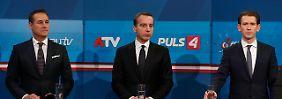 Nach Schlammschlacht-Wahlkampf: Österreich tritt an die Urnen