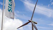 Windenergieunternehmen Siemens Gamesa macht weniger Gewinn als erwartet.