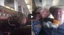 Crew schürt Panik: Flugpassagiere denken, sie stürzen ab