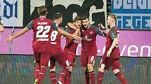 Torfestival am Böllenfalltor: 1. FC Nürnberg kämpft sich nach oben