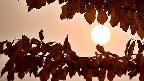 Sonne im Süden, Wolken im Norden: Goldener Oktober beginnt zu schwächeln