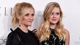 Für die jungen Mädchen muss dieses Gebaren aufhören! Reese Witherspoon mit Tochter Ava.