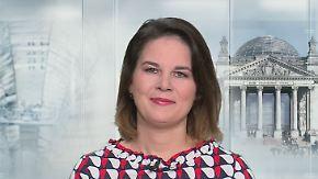 """Annalena Baerbock zu Sondierungen: """"Erst über Zielfragen unterhalten, dann über Instrumente"""""""