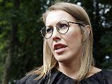 """Kandidatur bei Präsidentenwahl: Russische """"Paris Hilton"""" will Putin stürzen"""