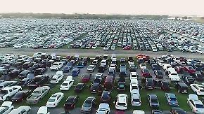 """Wasserschäden nach dem Hurrikan: Versicherungen wollen """"Harvey""""-Autos verkaufen"""