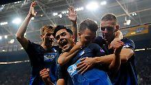Sturmlauf zum Premierensieg: Hoffenheim kommt endlich in Europa an
