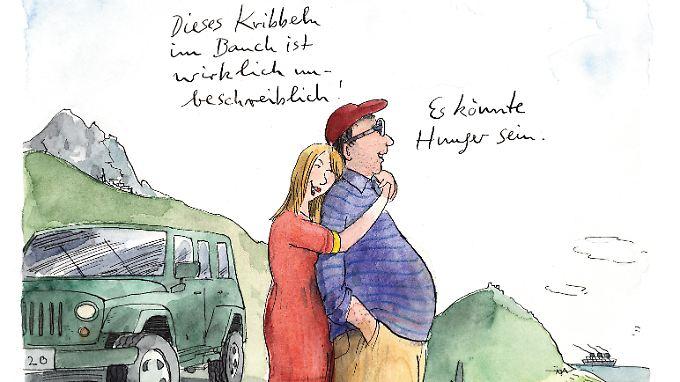 """Avec Amour"" kann da helfen ... (Illustration: ©Peter Gaymann)"