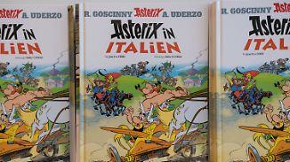 37. Band des Gallier-Comics: Asterix und Obelix machen das antike Italien unsicher