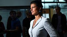 Interner Machtkampf geht weiter: Wagenknecht für neue linke Flüchtlingspolitik