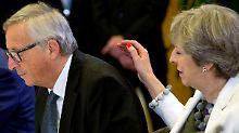 EU bleibt bei Brexit hart: Mays Charme-Offensive bleibt ohne Ertrag