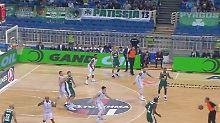 Der Sport-Tag: Basketball kurios: Schiedsrichter muss Katastrophenpass retten