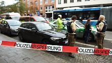 Tatverdächtiger festgenommen: Mann sticht in München um sich