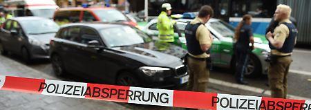 Mehrere Verletzte: Mann sticht in München um sich