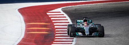 Läuft für ihn: Lewis Hamilton.