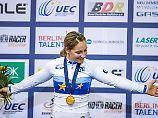 Endlich Gold: Keirin-Siegerin Kristina Vogel