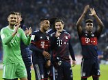 Gingen am Ende trotz aller Unstimmigkeiten als Sieger vom Platz: die Bayern
