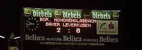 iUnd verlor mit 2:8 - gegen den TSV Bayer 04 Leverkusen.