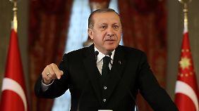 Erdogan ist auf Deutschland nicht gut zu sprechen.