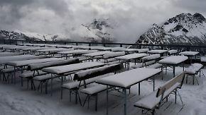 Erste Flocken in den Bergen: Neue Woche startet mit Schmuddelwetter